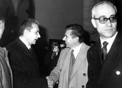 The opening ceremony on May 23, 1964 in the presence of Prime Minister Aldo Moro.